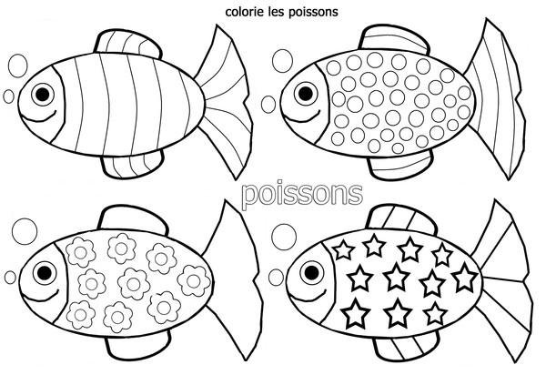 Christelle assistante maternelle a naintre poisson 1er - Coloriage avril ...