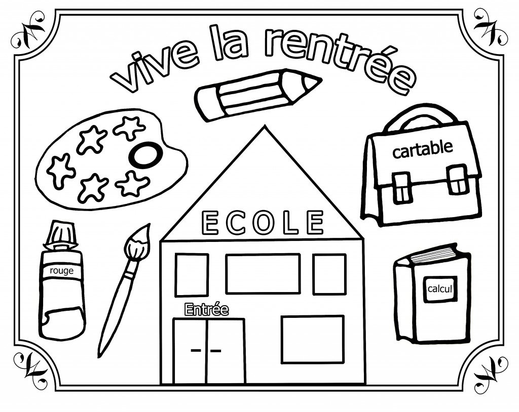 Christelle assistante maternelle a naintre septembre - Coloriage cartable maternelle ...