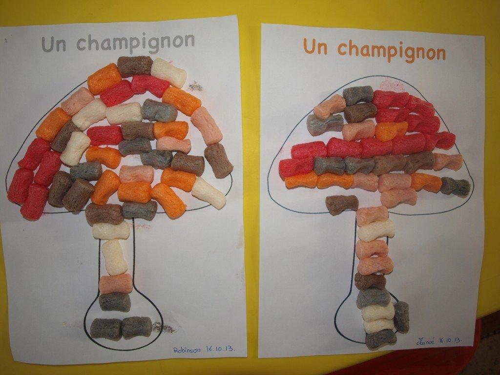 CHAMPIGNONS AUX PLAYMAIS dans ACTIVITEES CHEZ NOUNOU pa168341