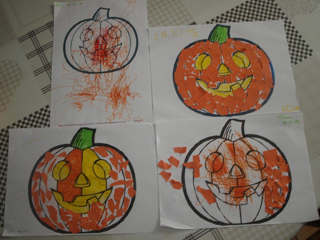 Turbo CHRISTELLE assistante maternelle A NAINTRE » ACTIVITES HALLOWEEN CS04