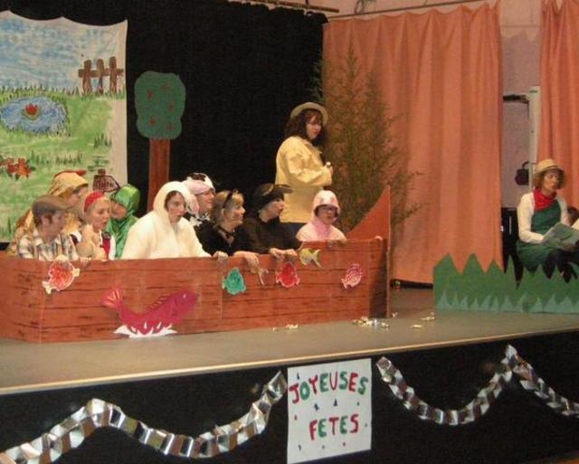 Fête de Noël du RAM à Naintré